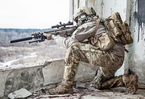 sniper position